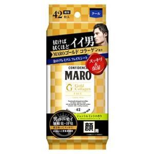 ストーリア MARO マーロ プレミアム フェイスシート ゴールド ジェントルミント (42枚入) ...