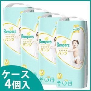 《ケース》 P&G パンパース はじめての肌へのいちばん パンツ スーパージャンボ Mサイズ 6〜1...