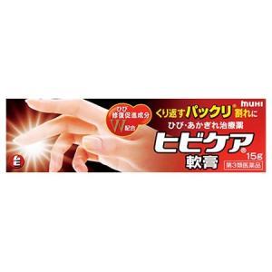 【第3類医薬品】池田模範堂 ヒビケア軟膏 (15g) ひび・あかぎれ治療薬 ムヒ