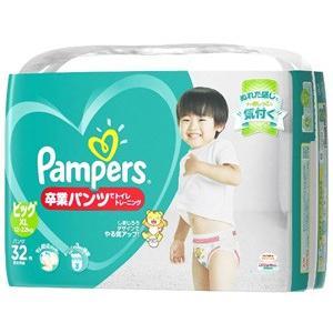 P&G パンパース 卒業パンツ ビッグサイズ 12〜...