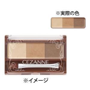 セザンヌ化粧品 ノーズ&アイブロウパウダー 01 キャメル (1個)