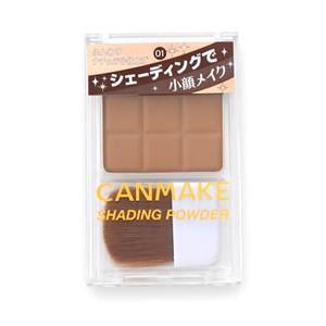 井田ラボラトリーズ キャンメイク シェーディングパウダー 01 デニッシュブラウン (1個) フェイ...