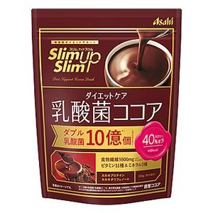 アサヒ スリムアップスリム ダイエットケア 乳酸菌ココア 約10回分 (150g) ダイエット食品 ...