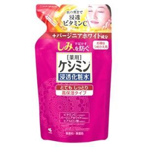 小林製薬 ケシミン浸透化粧水 とてもしっとり 高保湿タイプ つめかえ用 (140mL) 詰め替え用 ...