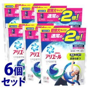 《セット販売》 P&G アリエール ジェルボール3D プラチナスポーツ 超特大 つめかえ用 (26個...