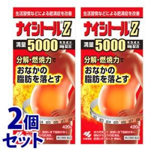 【第2類医薬品】《セット販売》 小林製薬 ナイシトールZ (420錠)×2個セット おなかの脂肪を落とす 送料無料