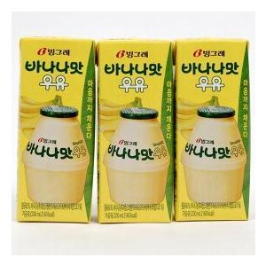 韓国好きはみんな大好き! 人気大爆発の韓国飲料、バナナ牛乳(バナナウユ)が日本で飲めます。  販売価...