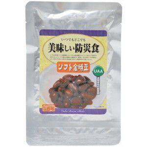 美味しい防災食 ソフト金時豆×50個 5年保存|tsuruma
