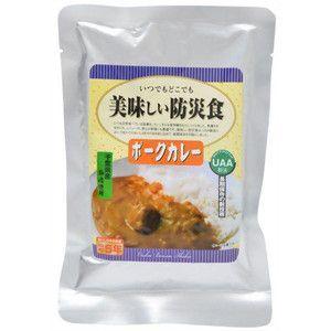美味しい防災食 ポークカレー×50個 5年保存|tsuruma