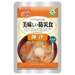 美味しい防災食 豚汁×50個 5年保存|tsuruma