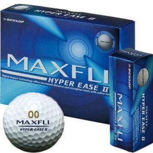 マックスフライ ハイパーEASE2 ゴルフボール 1ダース