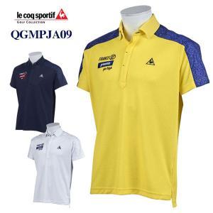 お買い得品 ゴルフ ルコック 半袖ポロシャツ QGMPJA09