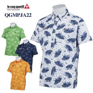 お買い得品 ゴルフ ルコック 半袖ポロシャツ QGMPJA22