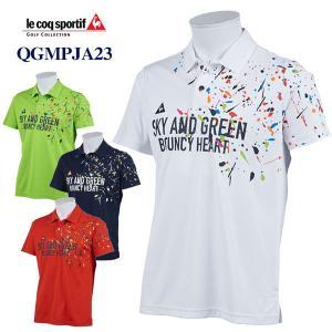 お買い得品 ゴルフ ルコック 半袖ポロシャツ QGMPJA23
