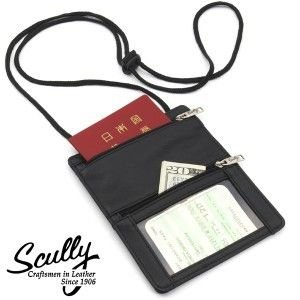 スカリー社【Scully】パスポートレザーケース|tsuten2