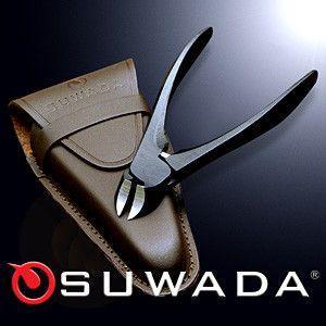 SUWADA ニッパー 爪切りブラック&本牛革ケースセット 諏訪田製作所 スワダ つめ切り|tsuten2