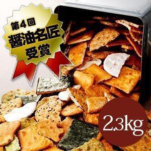 わけあり高級割れせんべい一斗缶入り2.3kg/草加煎餅こわれせんべい