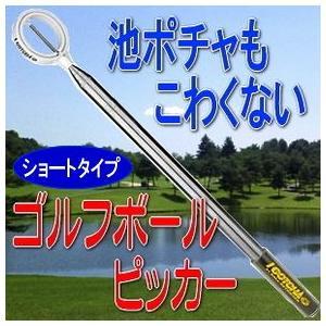 ゴルフボールピッカー ボールレトリバー(ショート)(IGOTCHA Retriever)ゴルフボール拾い用具|tsuten2
