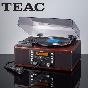 TEAC ティアック CDレコーダー搭載マルチレコードプレーヤー カセットデッキ カラオケ機能付 LP-R560K|tsuten2