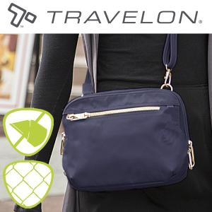 トラベロン社セーフティテーラードショルダーバッグ 43199 海外旅行対応盗難防止バッグ|tsuten2