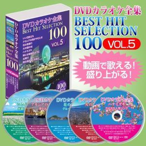 DVDカラオケ全集ベストヒットセレクションvol.05 全100曲 DKLK-1005