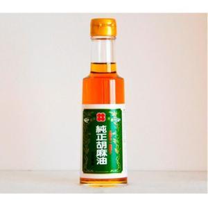 油茂製油 玉絞め一番搾りごま油 180g 【ごま油  胡麻油  ゴマ油】 tsutsu-uraura