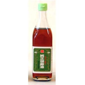 油茂製油 玉絞め一番搾りごま油  450g|tsutsu-uraura