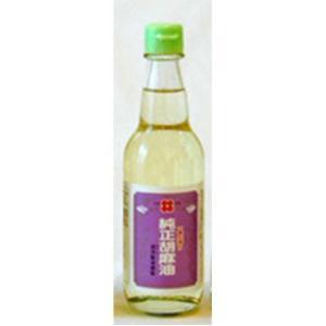油茂製油 生搾りごま油  330g 【ごま油 胡麻油 ゴマ油】 tsutsu-uraura