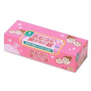 クリロン化成 おむつが臭わない袋BOS (ボス) ベビー用 箱型 Sサイズ(200枚入)