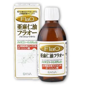 亜麻仁油 フラオー 230g CANA(キャナ)【アマニ あまに Flao フラックスシードオイル フラックスオイル オメガ3】|tsutsu-uraura