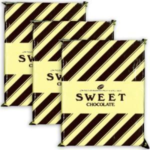 大東カカオ スイートチョコレート 純良  2Kg × 3袋  5-9月クール便手数料無料|tsutsu-uraura