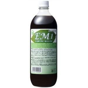 EM・1  1000ml 有用微生物土壌改良資材 【EM1 EM生活 1L】|tsutsu-uraura
