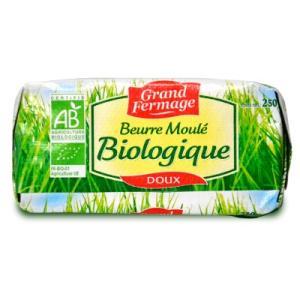 ユーリアル グランフェルマージュ (Grand Fermage BIO) グラスフェッドバター 250g 無塩 正規輸入品 冷蔵手数料無料|tsutsu-uraura