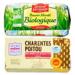 冷蔵便手数料無料 グラスフェッドバター セーブル(Sevre) 自然発酵 無塩 250g & ユーリアル グランフェルマージュ  グラスフェッドバター 250g|tsutsu-uraura