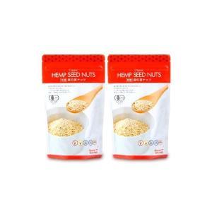 メール便で送料無料 ヘンプキッチン 有機麻の実ナッツ 180g × 2袋 tsutsu-uraura