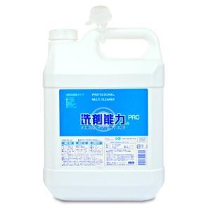 ヒューマンシステム 洗剤能力PRO 業務用濃縮タイプ 4L ノズル付き|tsutsu-uraura