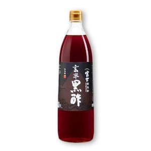 飯尾醸造 富士玄米黒酢 900ml|tsutsu-uraura