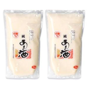 伊豆フェルメンテ 純あま酒 1kg × 2個 濃縮2倍タイプ|tsutsu-uraura