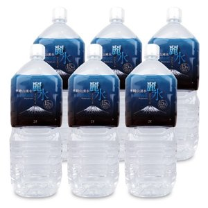ジャパンミネラル カムイワッカ麗水 15年保存水 2L×6本 セット ケース販売