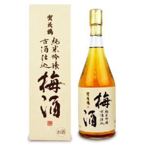 賀茂鶴酒造 純米吟醸古酒仕込 梅酒 720ml|tsutsu-uraura
