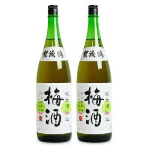 賀茂鶴酒造 純米酒仕込み 梅酒 1800ml × 2本|tsutsu-uraura