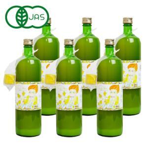 送料無料 かたすみ  有機レモン果汁ストレート100% 900ml×6本 ケース販売|tsutsu-uraura
