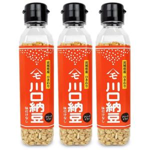 川口納豆  乾燥納豆 65g × 3本 セット