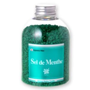北見 Sel de Menthe  セル・デ・メンタ  450g 徳用ボトル 北見ハッカ通商|tsutsu-uraura