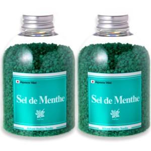 北見 Sel de Menthe  セル・デ・メンタ  450g × 2本 徳用ボトル|tsutsu-uraura