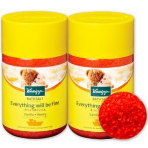 クナイプ バスソルト バニラ&ハニーの香り 850g × 2個  KNEIPP|tsutsu-uraura