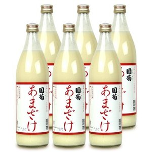篠崎 国菊 甘酒 900ml × 6本 あまざけ ノンアルコール ケース販売|tsutsu-uraura