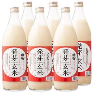篠崎 国菊 発芽玄米あま酒 瓶 720ml × 6本 セット ケース販売|tsutsu-uraura