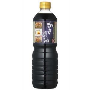 マルキン かき醤油 1L 【盛田 牡蠣醤油 だし醤油】 tsutsu-uraura