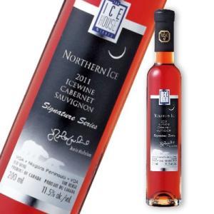 ノーザン・アイス シグネチャー・シリーズ カベルネ・ソーヴィニヨン アイスワイン 200ml 赤ワイン|tsutsu-uraura